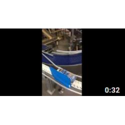 Тест перехода продукта  на конвейер FH-105