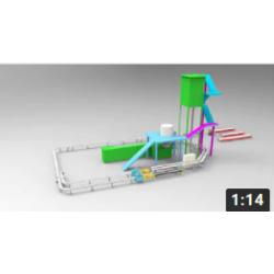 Конвейерная система для паучей и коробов на платформе FB-295